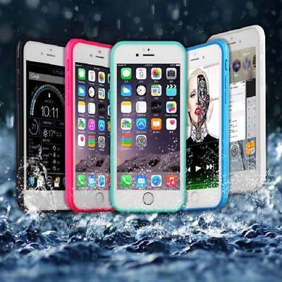 360° Waterproof Shockproof Rubber Phone Case Cover iPhone 6 6s 7 Plus 5 5s Shell