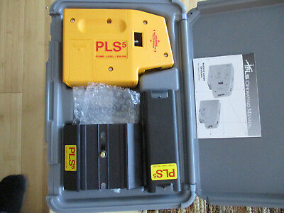 Pacific Laser System PLS5 with carrying case. Brand new Plum-Level-Square