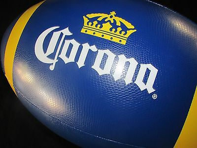 Corona Extra Football Inflatable Beer Blow up Beach Ball pool toy Man Cave sign