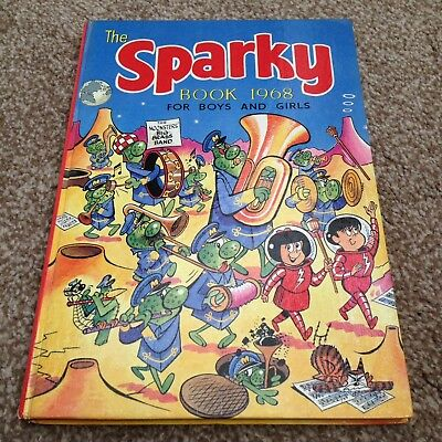 The Sparky Book Annual 1968 Amazing condition MUST LOOK dandy beano
