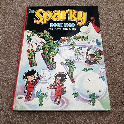 The Sparky Book Annual 1969 Amazing condition MUST LOOK dandy beano