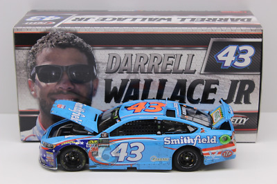 Bubba Wallace 2017 1st Career Start Pocono Race 1/24 Die Cast *SHIPS BY 1/17/18*