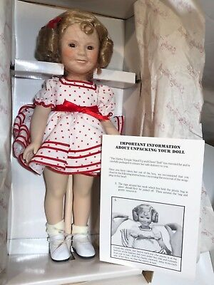 Danbury Mint Stand Up and Cheer Shirley Temple Dolls of the Silver Screen