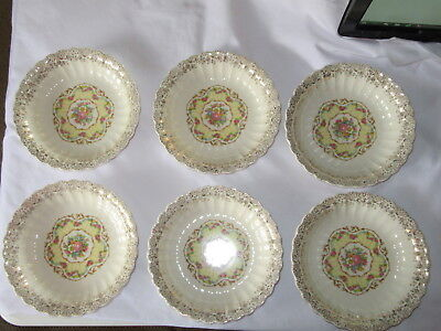 American Limoges Toledo Delight Coupe Soup Bowl - Set of 6