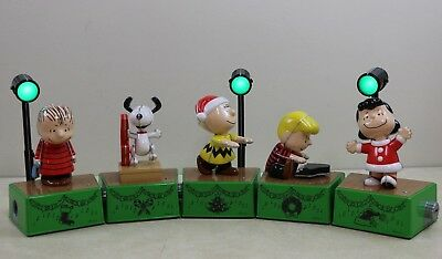 Hallmark PEANUTS Christmas Dance Party * Complete * Charlie Brown Snoopy Lights