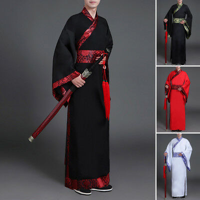 Chinese Han Dynasty Clothing Show Cosplay Suit Robe Ancient Costume Wear Dress