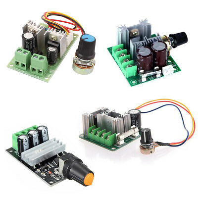 3/10/15A DC 6V-28V/6-90V/12V-36V/12V-40V PWM Adjuster Speed Control Switch ATF