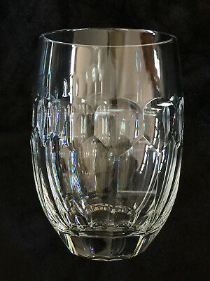 "Waterford Crystal Glasses 12 Oz Flat Tumbler Curraghmore 4 5/8"" Discontinued"