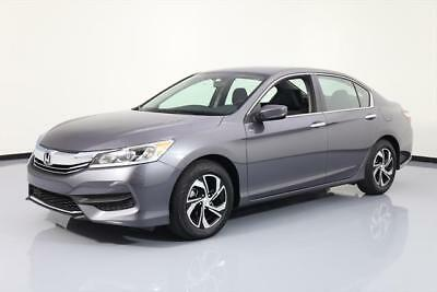 2016 Honda Accord LX Sedan 4-Door 2016 HONDA ACCORD LX SEDAN AUTO REAR CAM BLUETOOTH 12K #178324 Texas Direct Auto