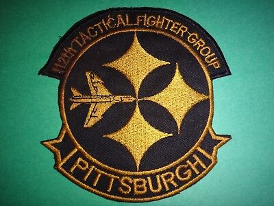 US Air Force Patch 112th TACTICAL FIGHTER GROUP, Pittsburgh PA.