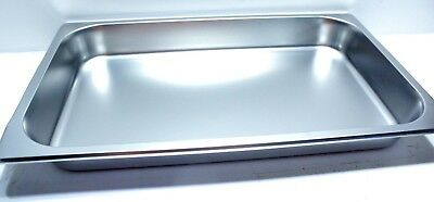 Original Food Pan for TigerChef 8 Quart Full Size Stainless Steel Chafer