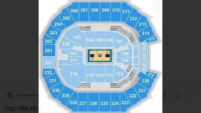 Charlotte Hornets vs. Washington Wizards 1/17/18 7pm (Will Email Tickets)