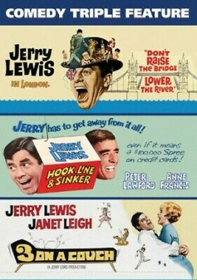 Jerry Lewis Comedy Triple Feature [New DVD]