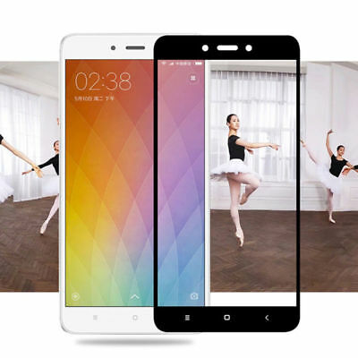 Full Covered Tempered Glass Screen Protector For Xiaomi Redmi Note 4 / 4X Pro