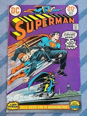 Superman #268 [1973,DC] * Feat Batgirl * Mid to High *