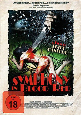 Symphony in Blood Red NEW PAL Cult DVD L. Pastore Simona Oliverio A. Morosetti