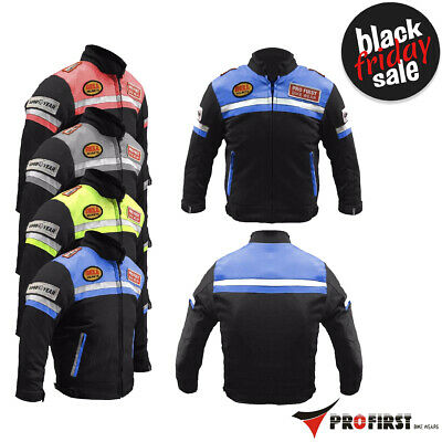 Kids/Child Motorbike motorcycle motocross Armoured Jacket Coat Waterproof Unisex