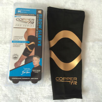 Copper Fit elbow Sleeve Compression Sleeve Pro Series M L XL