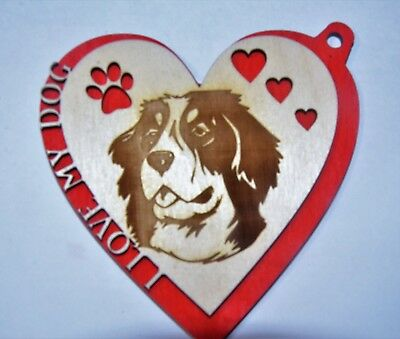 Unique original Dog Ornament, Bernese Mountain Dog