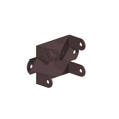 24 x Strong Metal L Clips 45mm Fastens Fence And Trellis Panels To Timber Posts