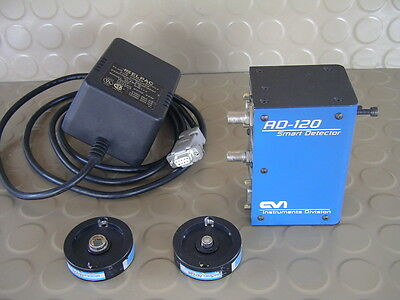 CVI Spectral Products AD-120 Smart Photodiode Detector, powersupply tested