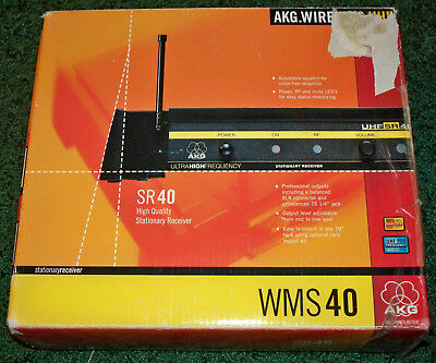 AKG Wireless WMS40 SR40 High Quality Staionary Receiver