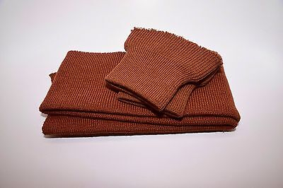WWII US Army Air Corps A-2 Flight Jacket Cuff/Waistband Russet Brown