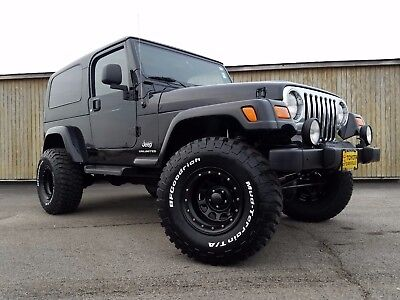 2005 Jeep Wrangler Unlimited 2005 Jeep Wrangler Unlimited 2 Door Hard Top Lifted Wheel and Tire package