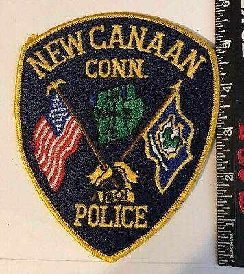 New Canaan Connecticut Police Patch