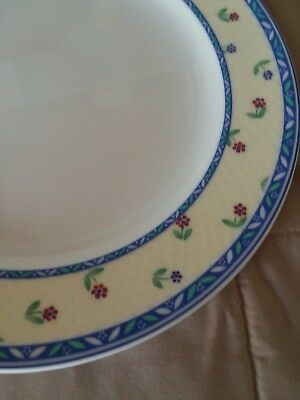Villeroy & Boch Adeline - 10 1/2 Inch Dinner Plates Used But In Perfect Condtion