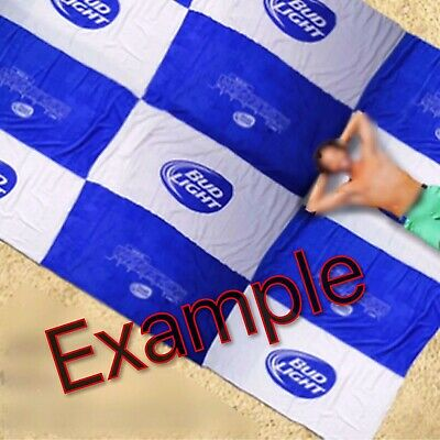 BUD LIGHT 150 Square-foot Beach Towel NEW