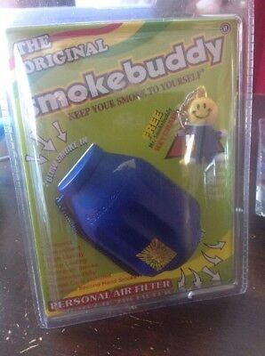 Smoke Buddy Personal Air Purifier Cleaner Filter Removes Odor (Blue)