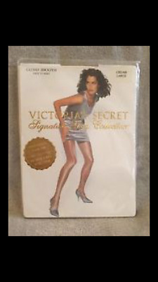 2 pack glossy sheer to waist Victoria's Secret signature oat md FINAL QUANTITY