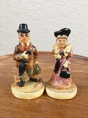 Vintage Mr. And Mrs. Beacon Hill Statues 1947 E. Dahl