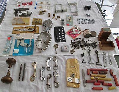 Big Lot of Antique & Vintage 40+ Items Of Hardware Utility Tools