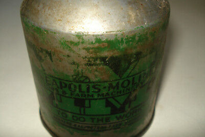 Rare Vintage Minneapolis Moline Oil Farm Tractor Advertising Can