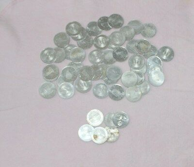 Shell Game Coins-Lot of 55 -40 states + 6 presidents pre owned