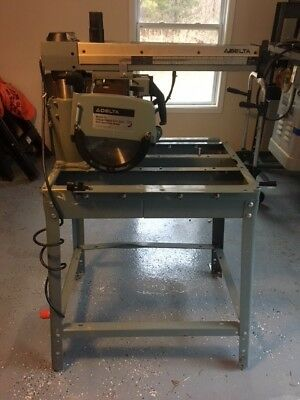 Delta Model 10 Deluxe Radial Arm Saw With Automatic Brake 2HP
