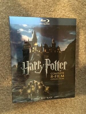 Harry Potter Complete 8-Film Collection Bluray ( Brand New )