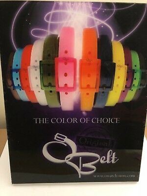 New Silicone Belt Many Colors Jelly Rubber Plastic Suit Casual Belt W/ Buckle
