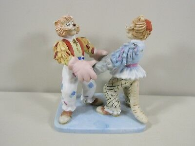 Mungojerrie & Rumpelteazer Knock Out Clown Cat Figurine