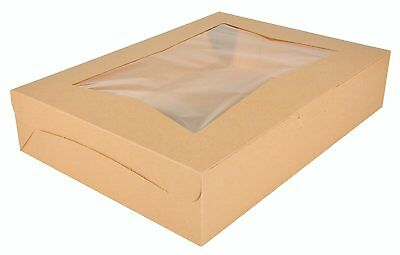 Southern Champion Tray Kraft 23133K Paperboard Window Bakery Box (Case Of 50)