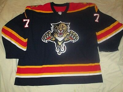 lowest price abc49 1243f 2003-04 GAME WORN Used Florida Panthers Jersey #7 Pavel Trnka w/MeiGray LOA