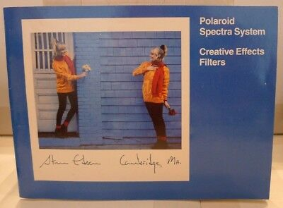 Polaroid Spectra System Creative Effects Filters Product User Manual