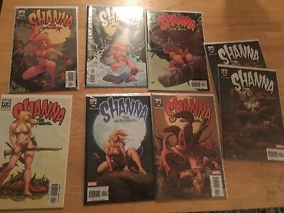 Shanna The She-devil Comic Books. 1-7 Extra 7