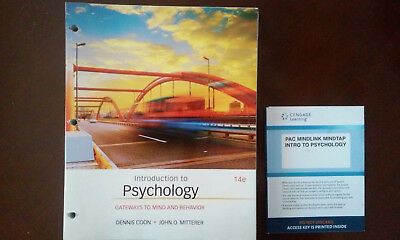 Introduction to Psychology : Gateways to Mind and Behavior by Dennis Coon and...