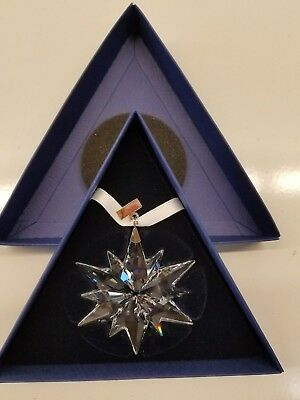Swarovski Crystal Annual Christmas Ornament 2017 #5257589 Lovely Sparkly Star
