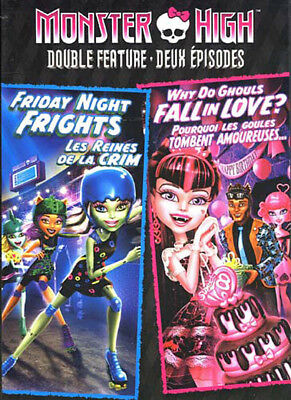 Monster High Double Feature - Friday Night Fri New DVD