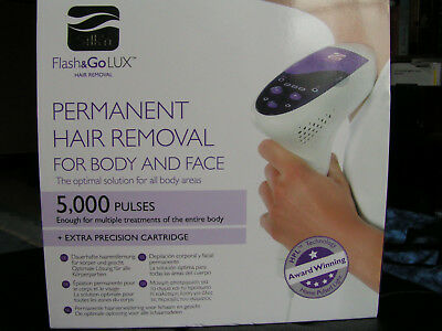 Silk'n  HPL Flash & Go Lux Permament Hair Removal 5000 Pulses TOP