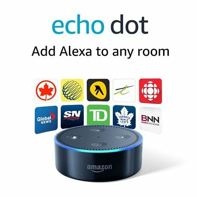Amazon Echo Dot 2nd Generation w/ Alexa Brand New Sealed Black